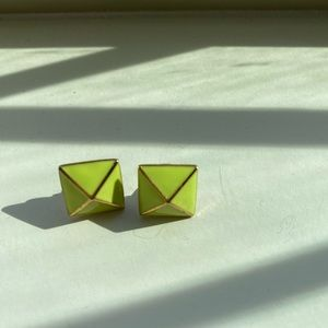 Kate spade geometric earrings